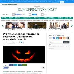 17 personas que se tomaron la decoración de Halloween demasiado en serio