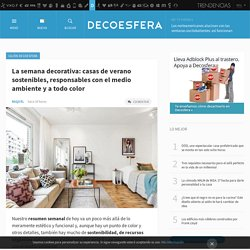 Decoración e interiorismo. Decoesfera