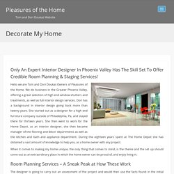 Decorate my home,house,make room planning and interior design services