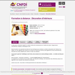 D coration d 39 int rieur pearltrees - Formation decorateur interieur a distance ...