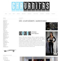 EXPO - Les Arts Décoratifs - Galerie des bijoux