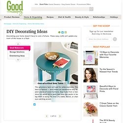 DIY Decorating - Decor Ideas