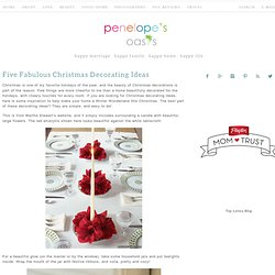 Christmas Decorating Ideas DIY Affordable Easy Holiday Decorations
