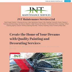 Create the Home of Your Dreams with Quality Painting and Decorating Services