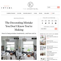 The Decorating Mistake You Don't Know You're Making