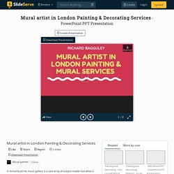 Mural artist in London Painting & Decorating Services PowerPoint Presentation - ID:10407575