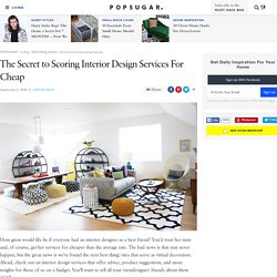 Online Home-Decorating Services