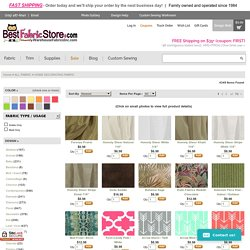 Buy Home Decorator Fabric Stores Online - BestFabricStore.com
