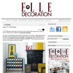 Issue 71: The Room | Elle Decoration South Africa