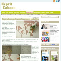 Décoration murale, Esprit Cabane, idees creatives et ecologiques
