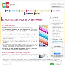 La filière : le secteur de la décoration - Fédération Nationale de la Décoration