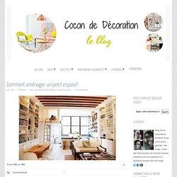 Cocon de décoration: le blog » Déco / Lifestyle / Café » Comment aménager un petit espace?