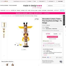 Décoration Corkers Totem / Pour bouchons de liège Multicolore - Pa Design