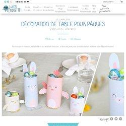 Décoration de table Pâques