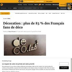 Décoration : plus de 83 % des Français fans de déco