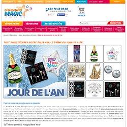 Décoration Idées de décos soirée du jour de l'an Idées décorations à thème : Décoration pas cher