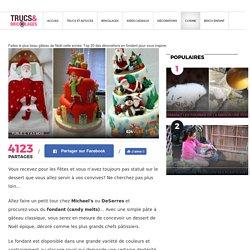 Faites le plus beau gâteau de Noël cette année: Top 20 des décorations en fondant pour vous inspirer - Trucs et Bricolages