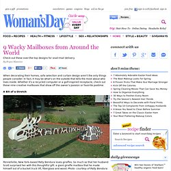 Yard Decorations - Unusual Mailboxes at WomansDay