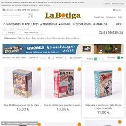 Cajas de metal - Compra cajas metálicas decorativas originales