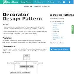 Decorator Design Pattern