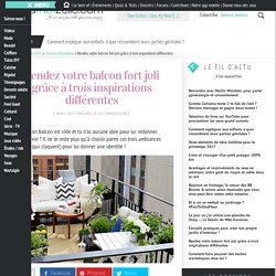 Décorer son balcon – astuces DIY et déco