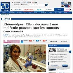 Rhône-Alpes: Elle a découvert une molécule pouvant tuer les tumeurs cancéreuses