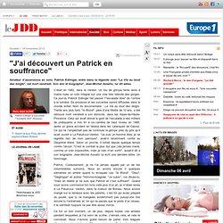 """""""J'ai découvert un Patrick en souffrance"""" (hommage de Jean-Michel Asselin à Patrick Edlinger)"""