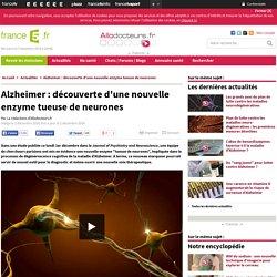Alzheimer : découverte d'une nouvelle enzyme tueuse de neurones