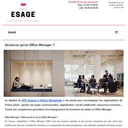 - Qu'est-ce qu'un Office Manager ? Découverte du métier 2.0 - Ecole en Alternance pour BTS Assistant Manager et BTS Assistant de Gestion à Paris