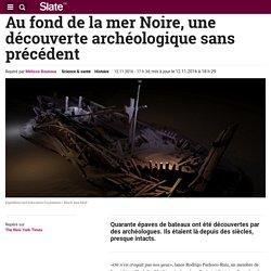Au fond de la mer Noire, une découverte archéologique sans précédent
