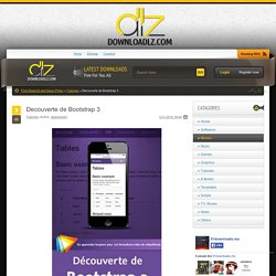 Decouverte de Bootstrap 3 » Downloads All Verified Links and Torrents