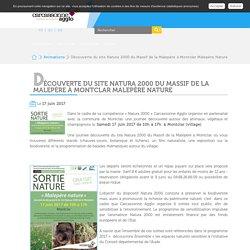 Découverte du site Natura 2000 du Massif de la Malepère à Montclar Malepère Nature - Carcassonne Agglo