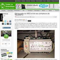 Découverte du WES et de ses compteurs de TELEINFO