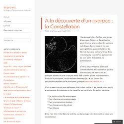 A la découverte d'un exercice : la Constellation