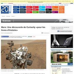 Mars: La Nasa parle d'une découverte «pour les livres d'histoire» de Curiosity
