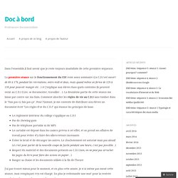 Séance1, A la découverte du CDI (Techniques documentaires 6ème)