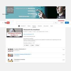 Découverte du visualiseur - YouTube