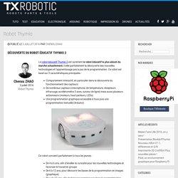 Découverte du robot éducatif Thymio 2