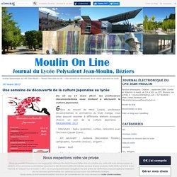 Une semaine de découverte de la culture japonaise au lycée - Journal électronique du LPO Jean-Moulin