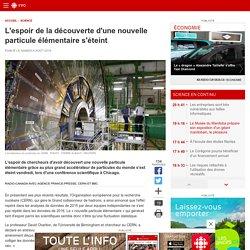 L'espoir de la découverte d'une nouvelle particule élémentaire s'éteint