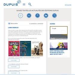 D couverte, Lundi nergie ! - Editions Dupuis