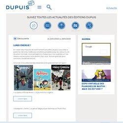 Découverte, Lundi énergie ! - Editions Dupuis