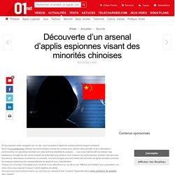 Découverte d'un arsenal d'applis espionnes visant des minorités chinoises