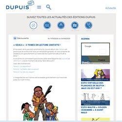 Découverte, «Seuls» : 3 tomes en lecture gratuite! - Editions Dupuis