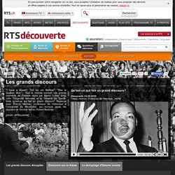 rts.ch - découverte - monde et société - histoire - les grands discours