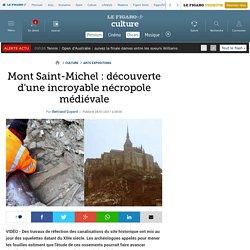Mont Saint-Michel : découverte d'une incroyable nécropole médiévale
