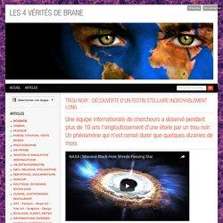 TROU NOIR : DÉCOUVERTE D'UN FESTIN STELLAIRE INCROYABLEMENT LONG