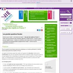 Qui paie des impôts en France ? - Les ressources de l'Etat Découverte des institutions