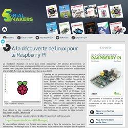 A la découverte de linux pour le Raspberry Pi