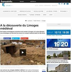 A la découverte du Limoges médiéval - France 3 Limousin